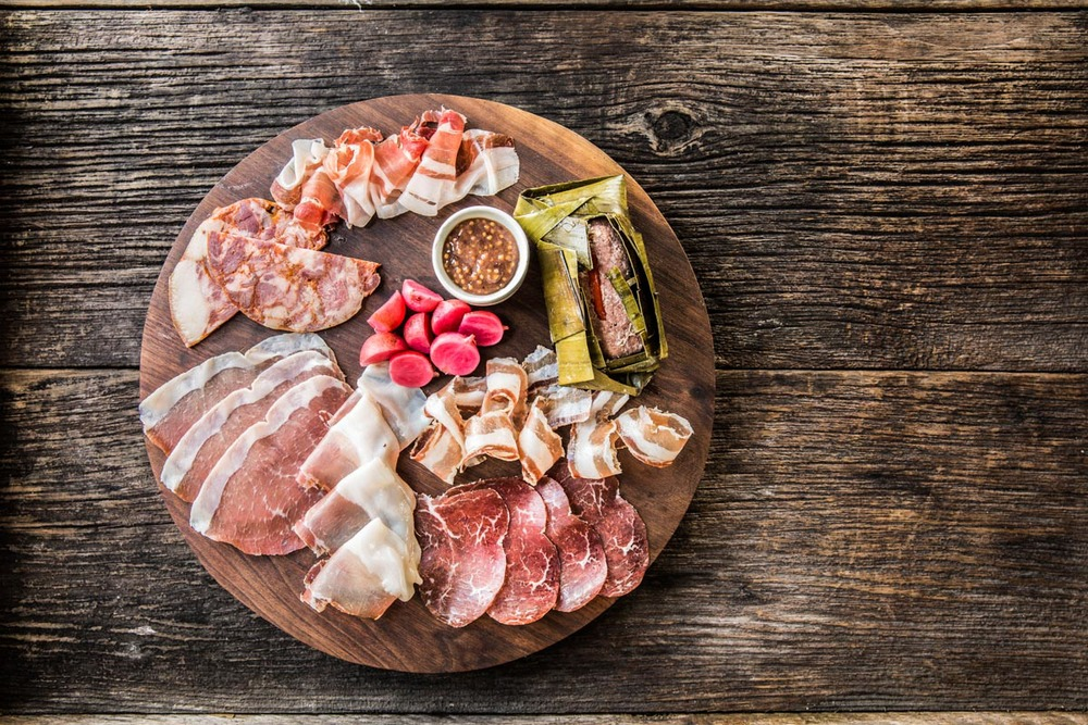 Underbelly Charcuterie Board |  Photo Credit: Julie Soefer Photography