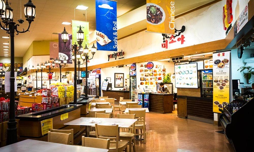 H Mart Food Court| Photo Credit:Julie Soefer Photography