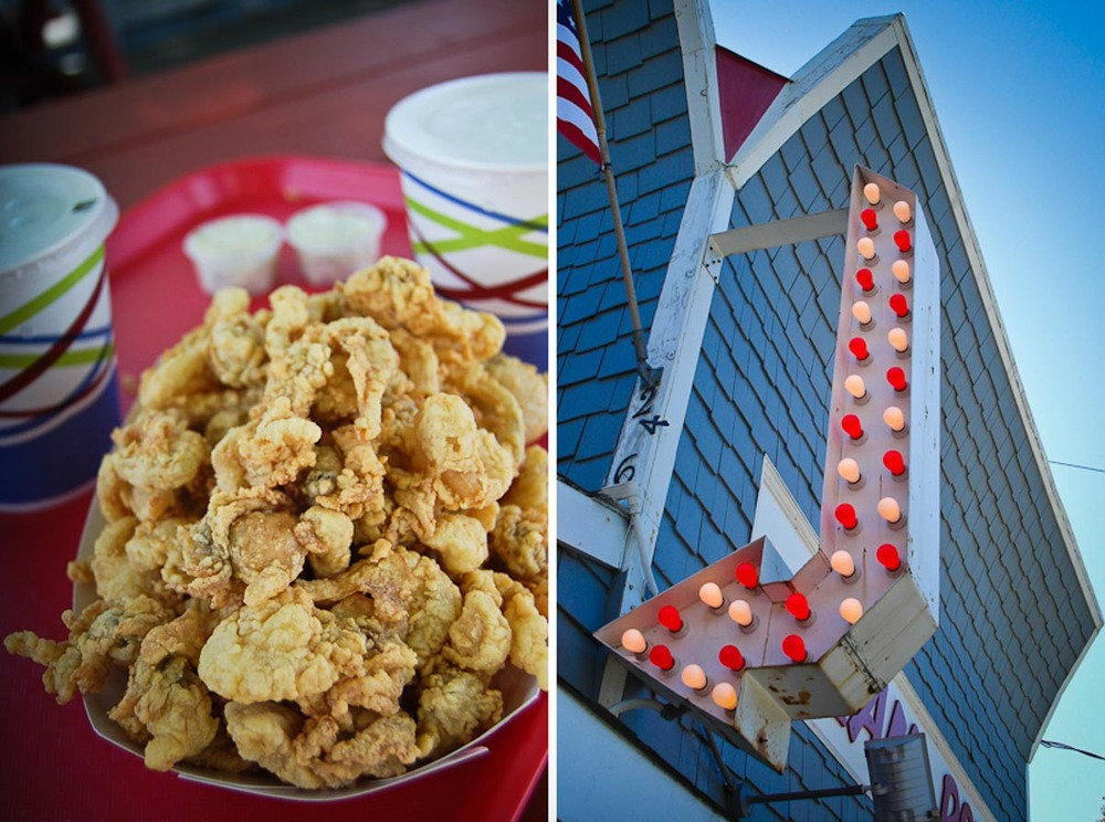Fried Clams at The Clam Box | Photo Credit: snowpea&bokchoi and Edward O'Connor [Flickr]