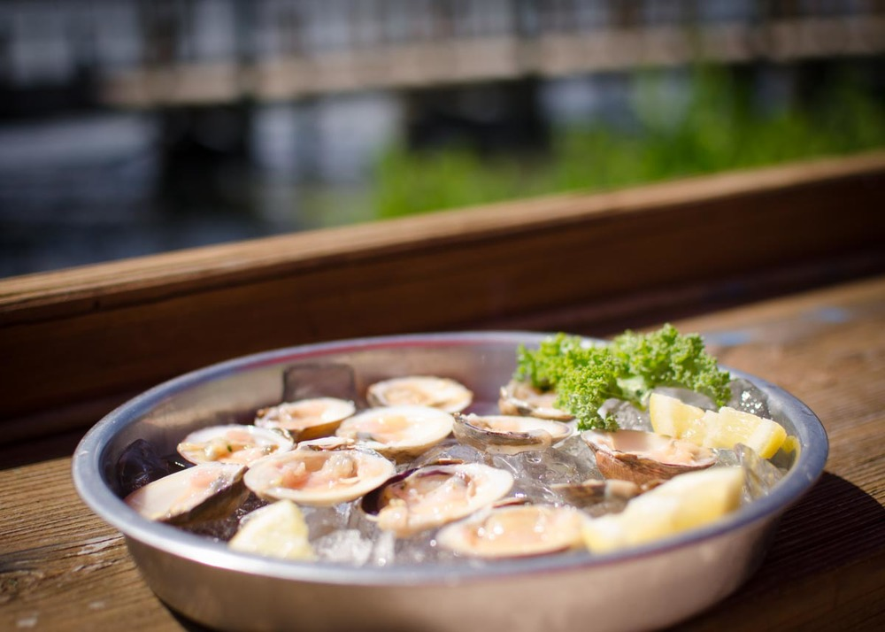 Clams at JB's Fish Camp | Photo Credit: Find. Eat. Drink.