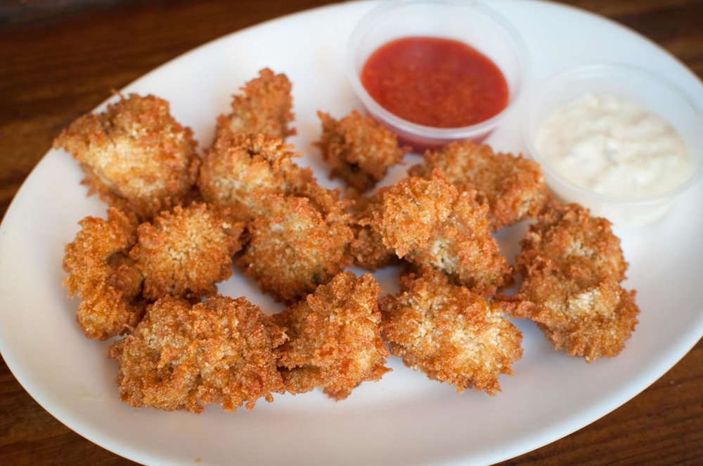 Fried Fish Roe at Garcia's | Photo Credit: Find. Eat. Drink.