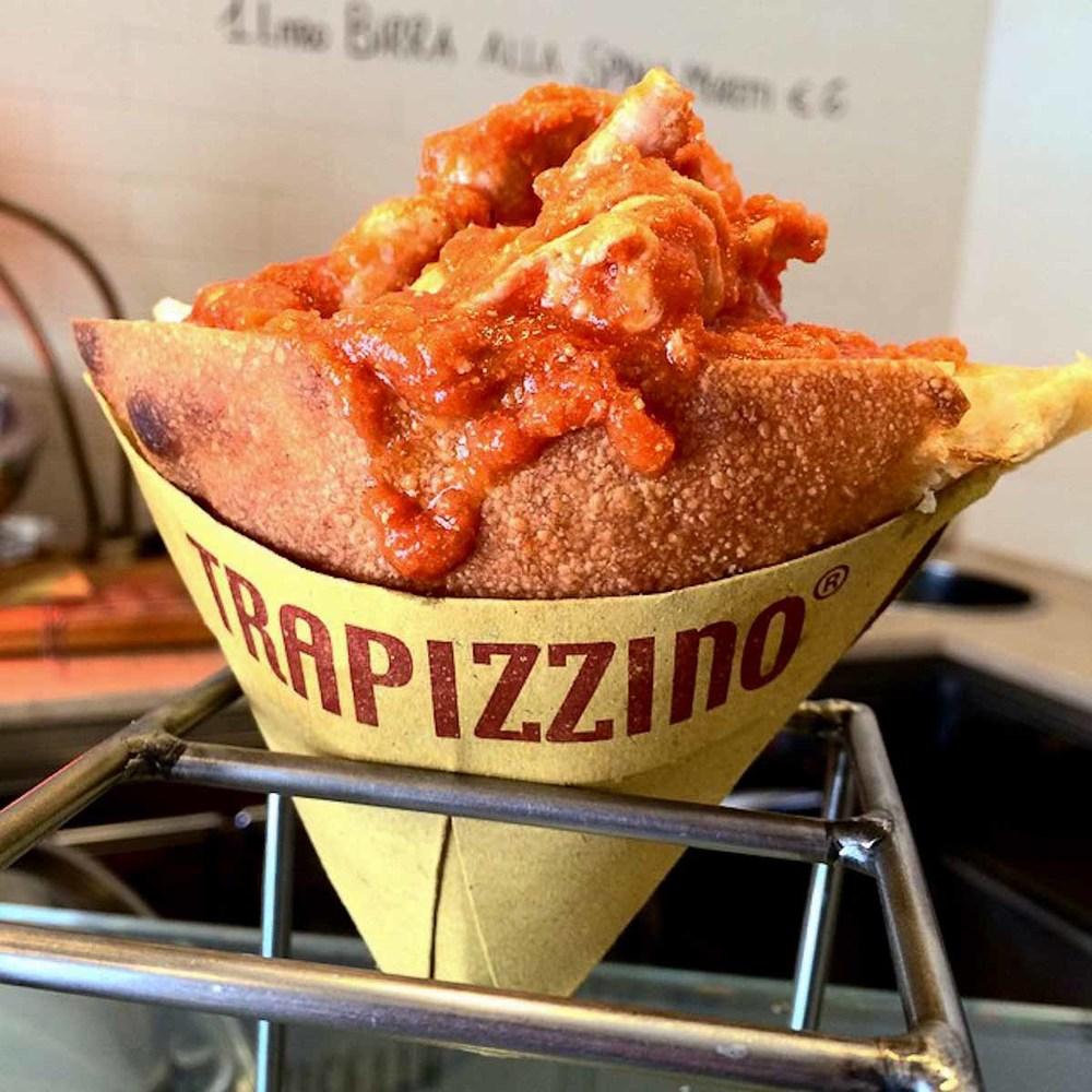 Trapizzino Pocket Pizza | Photograph courtesy of Trapizzino