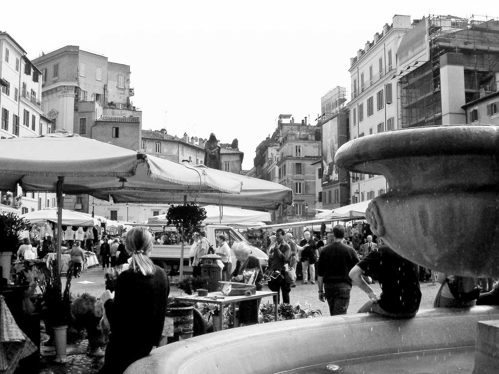 Campo de' Fiori Market | Photo Credit: Find. Eat. Drink.