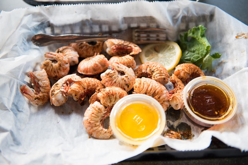 Rock Shrimp at JB's Fish Camp | Photo Credit: Find. Eat. Drink.