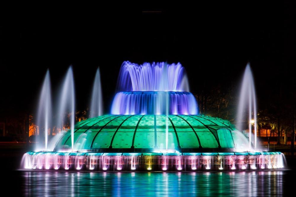 Lake Eola Fountain |Photograph courtesy of Visit Orlando