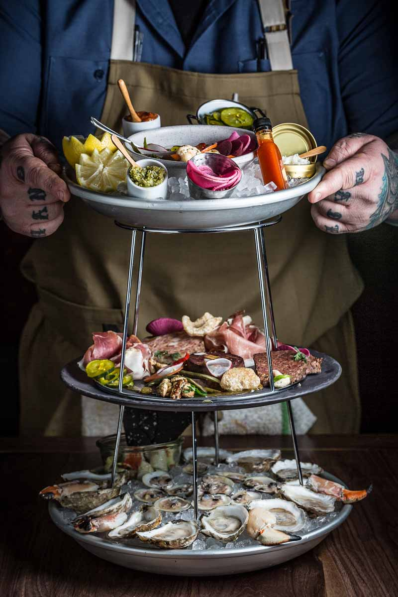 Shellfish Plateau at Townsman | Photograph courtesy of Townsman