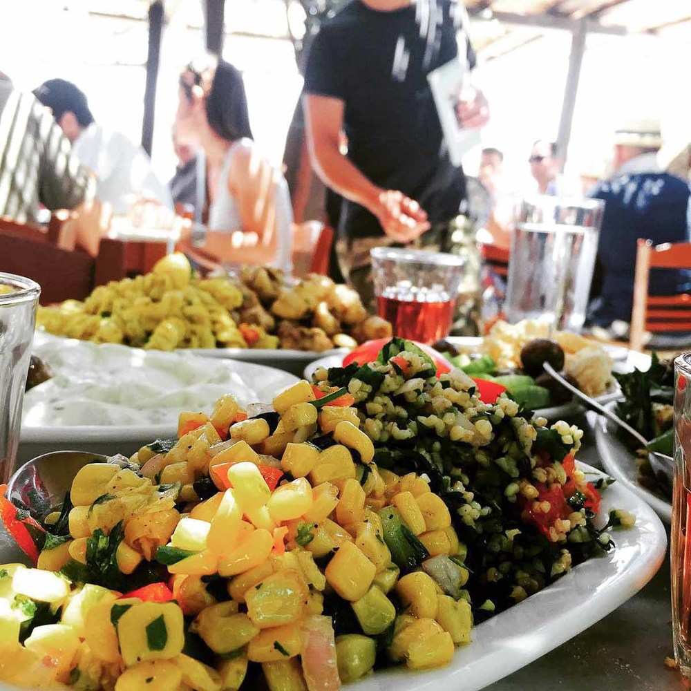 Sweet corn salad at Kiki's | Photo Credit: Kylie Monagan of Amali