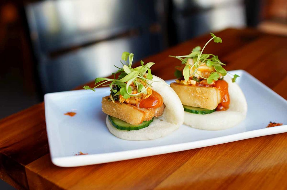 Pig Bao at Shojo | Photo Credit: Debra Li