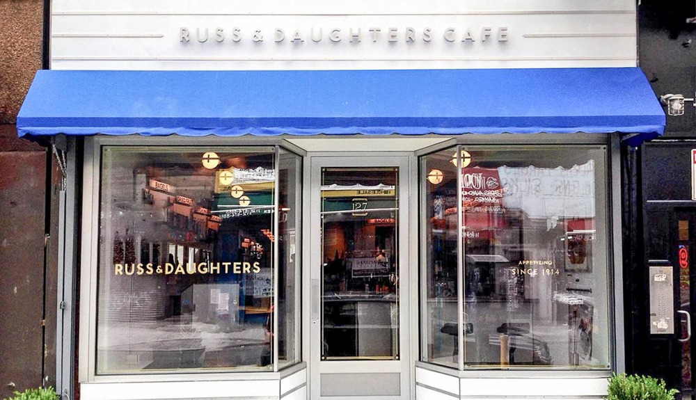 Photograph courtesy of Russ & Daughters Cafe