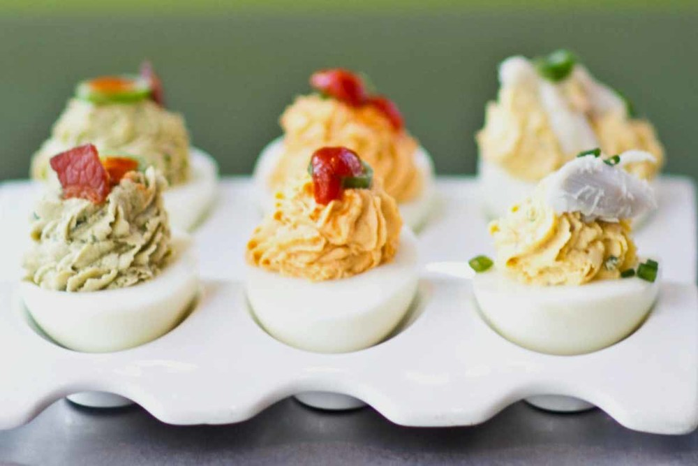 Signature Deviled Eggs | Photograph courtesy of Z-Grille