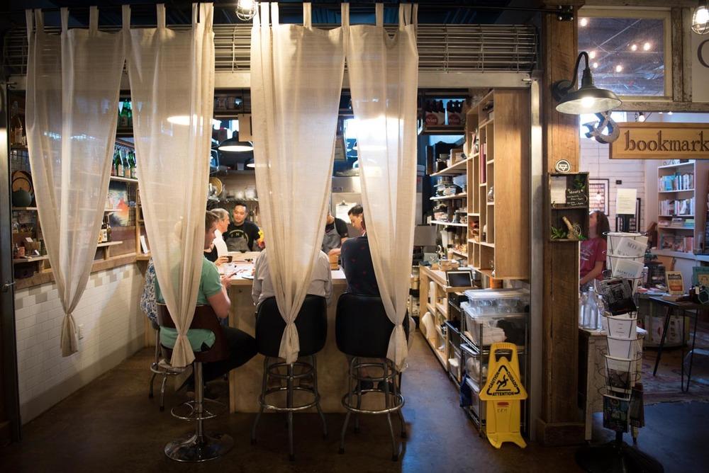 Japanese restaurant Kappo inside the East End Market   Photo Credit: Find. Eat. Drink.