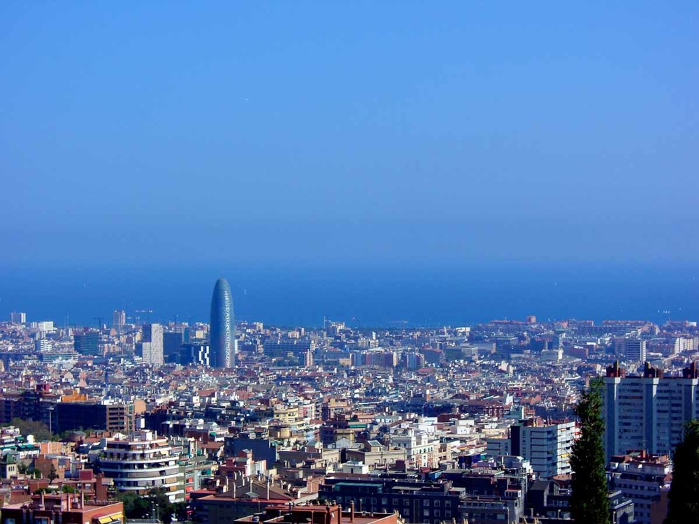 Barcelona Skyline | Photo Credit: Find. Eat. Drink.