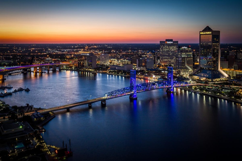 Downtown Jacksonville | Photo Credit:  Ryan Ketterman for Visit Jacksonville