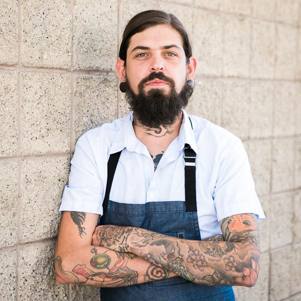 Chef Justin Burdett | Photo Credit: Meghan Rolfe Photography