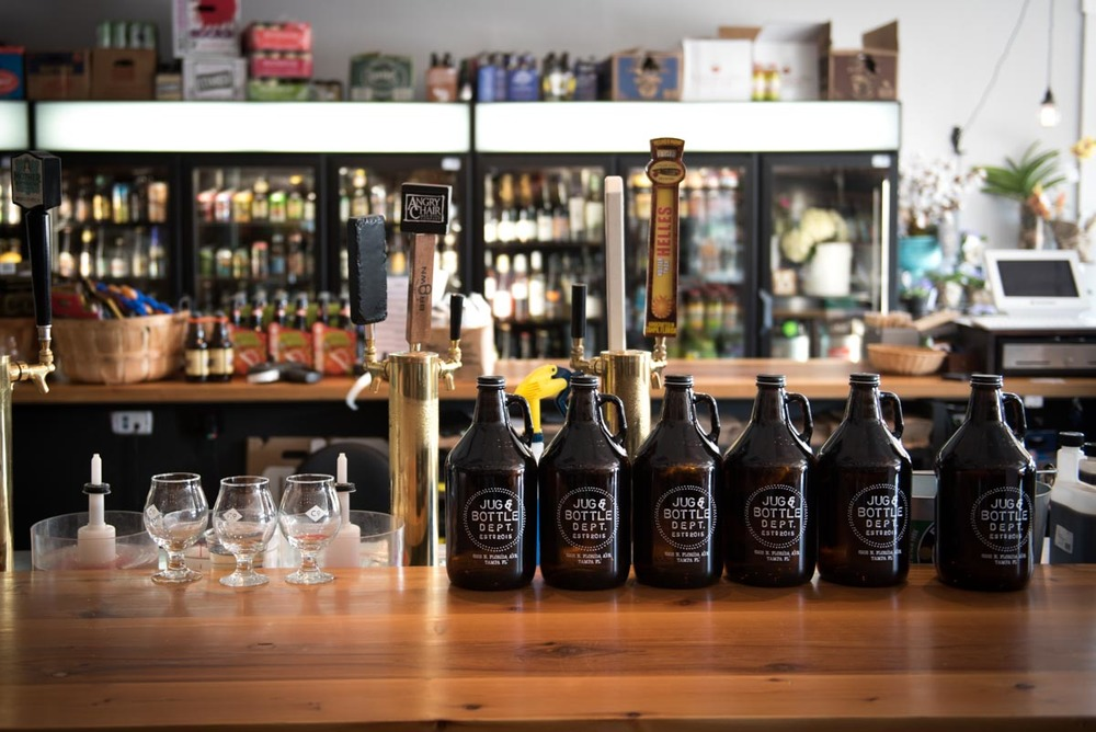 Jug & Bottle Dept | Photo Credit: Find. Eat. Drink.