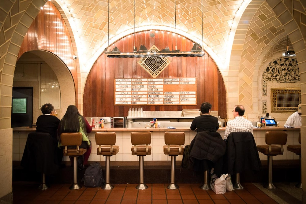 Grand Central Oyster Bar | Photo Credit: Find. Eat. Drink.