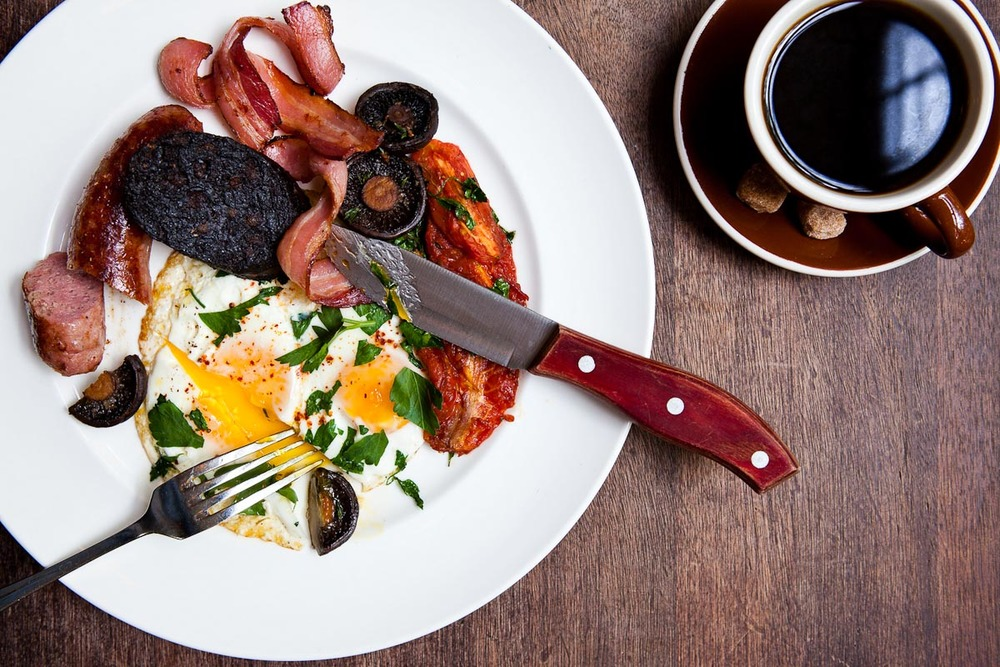 English Breakfast | Photograph courtesy of The Breslin