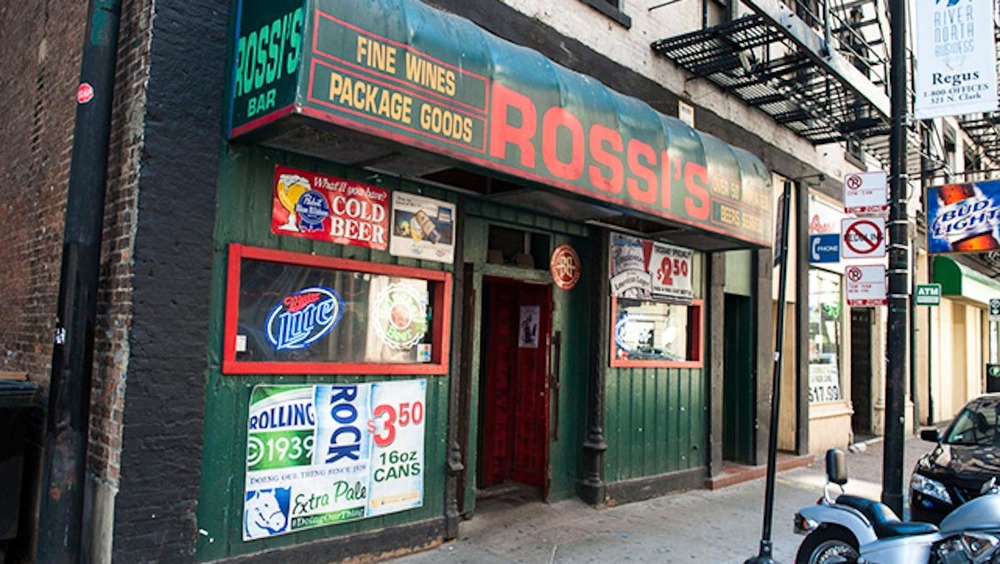 Photograph courtesy of Rossi's