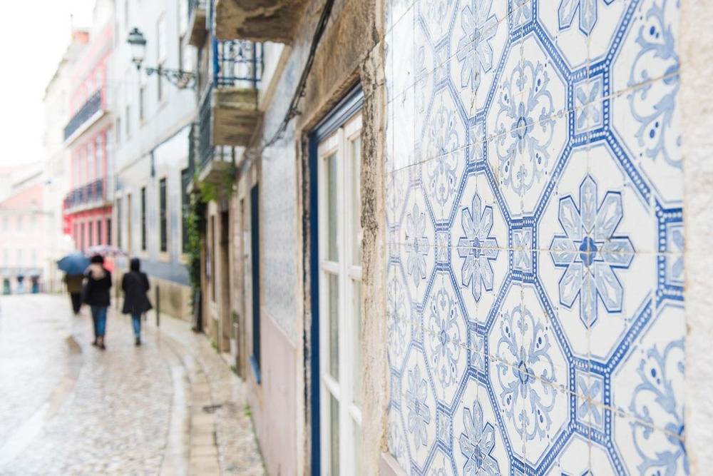 Lisbon Street in Alfama | Photo Credit: Find. Eat. Drink.