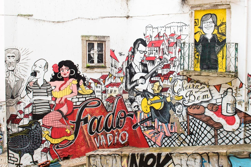 Lisbon Street Art | Photo Credit: Find. Eat. Drink.