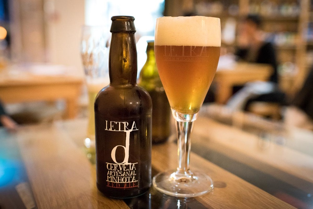 Letra Red Ale at Cerveteca Lisboa | Photo Credit: Find. Eat. Drink.