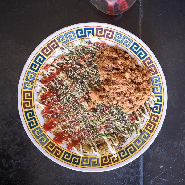 Okonomiyaki at Xiao Bao Biscuit | Photo Credit: Find. Eat. Drink.
