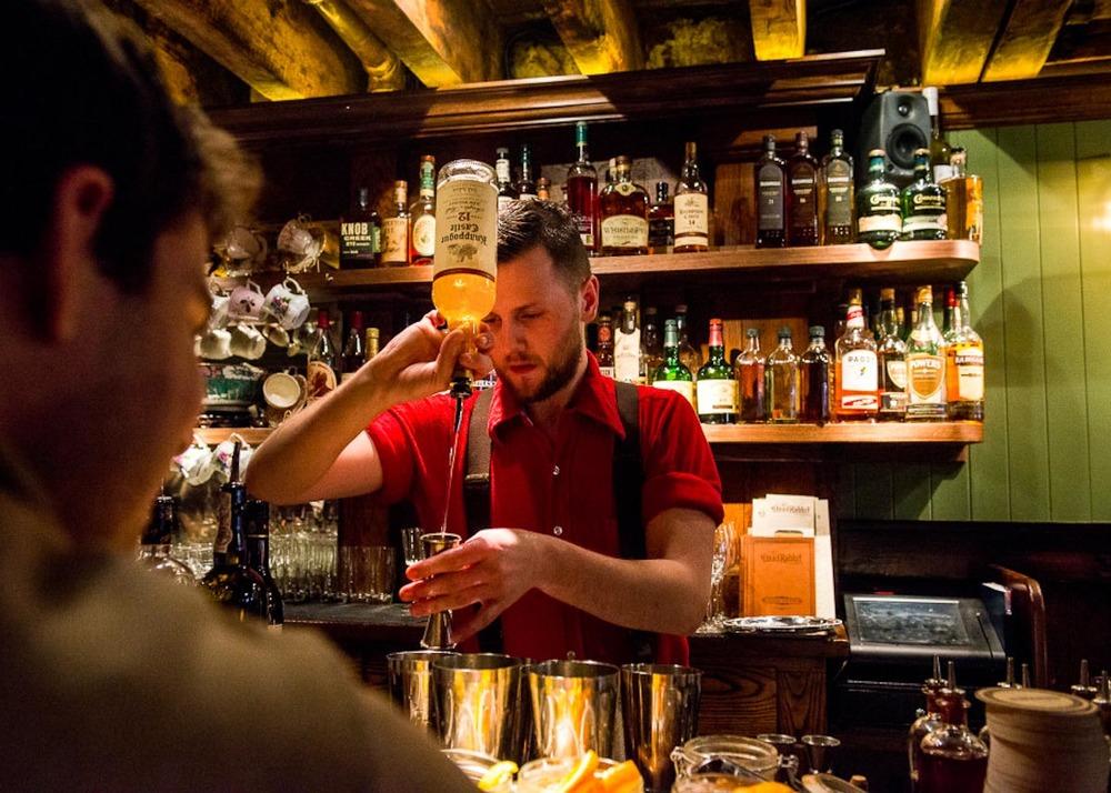 Dead Rabbit Bartender Jack McGarry | Photograph courtesy of The Dead Rabbit
