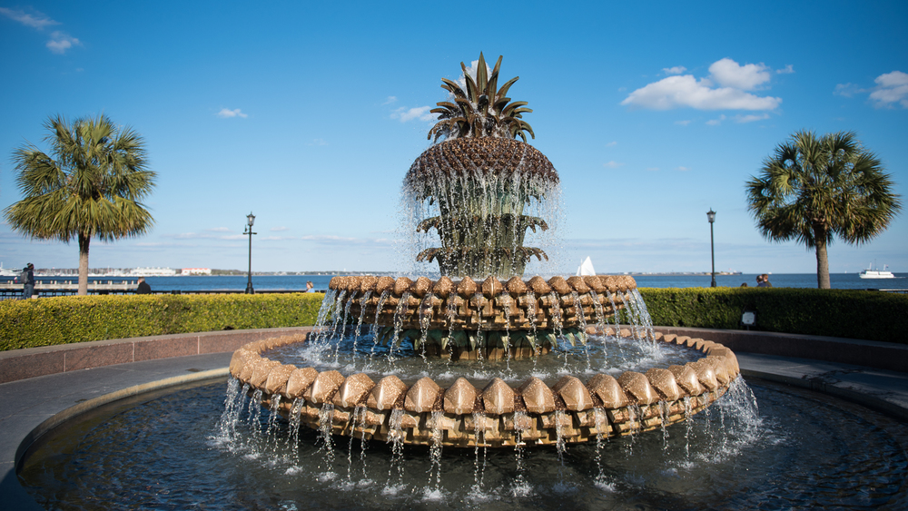 Iconic Pineapple Fountain