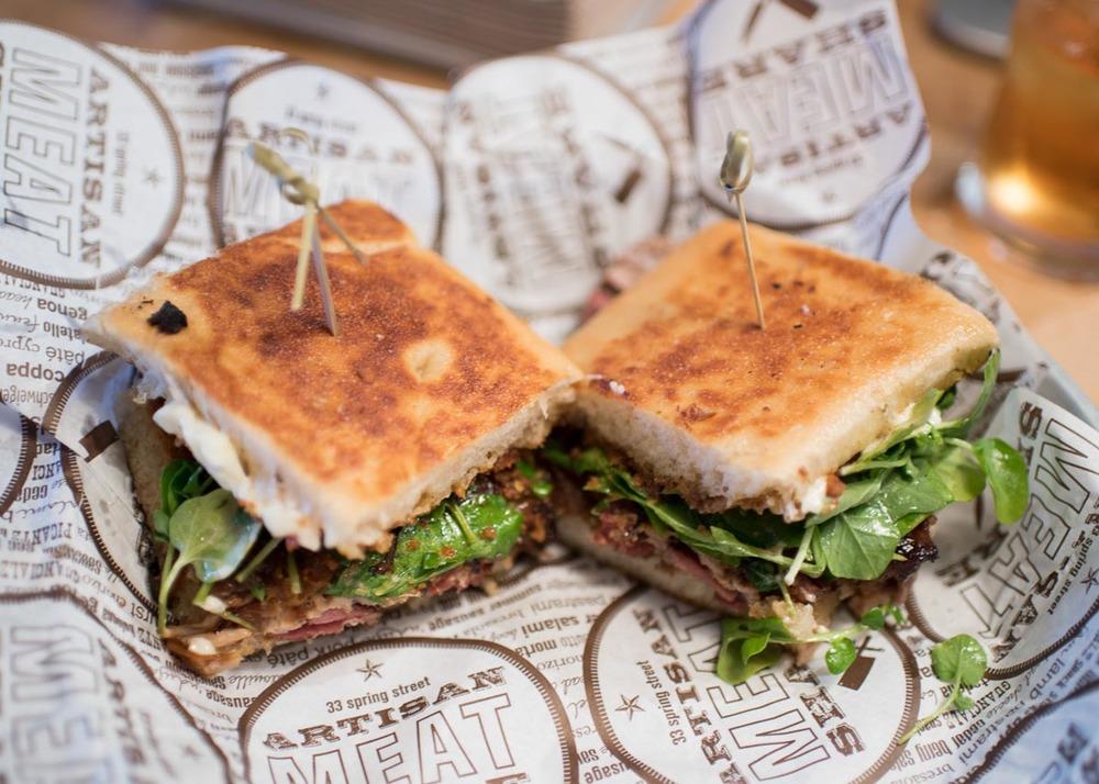 The Porcetta Sandwich | Photo Credit: Find. Eat. Drink.