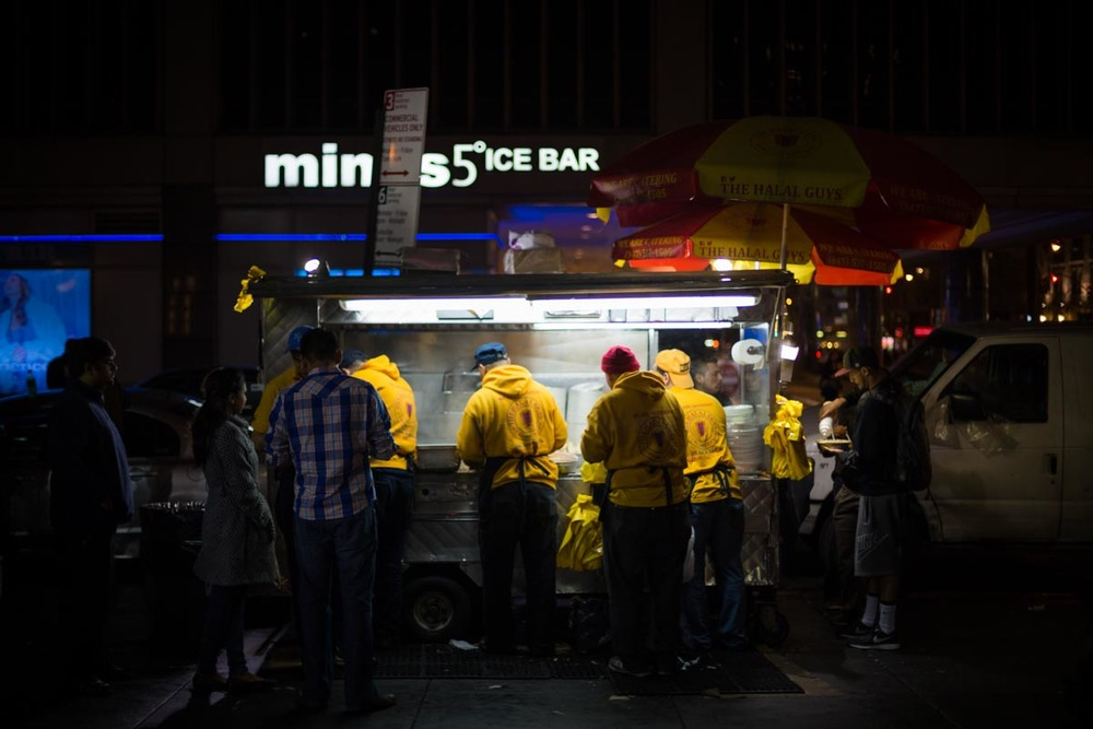 The Halal Guys cart | Photo Credit: Dave J Doe [flickr]