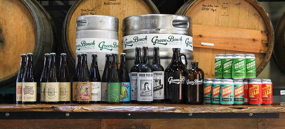 Photograph courtesy of Green Bench Brewing Co.
