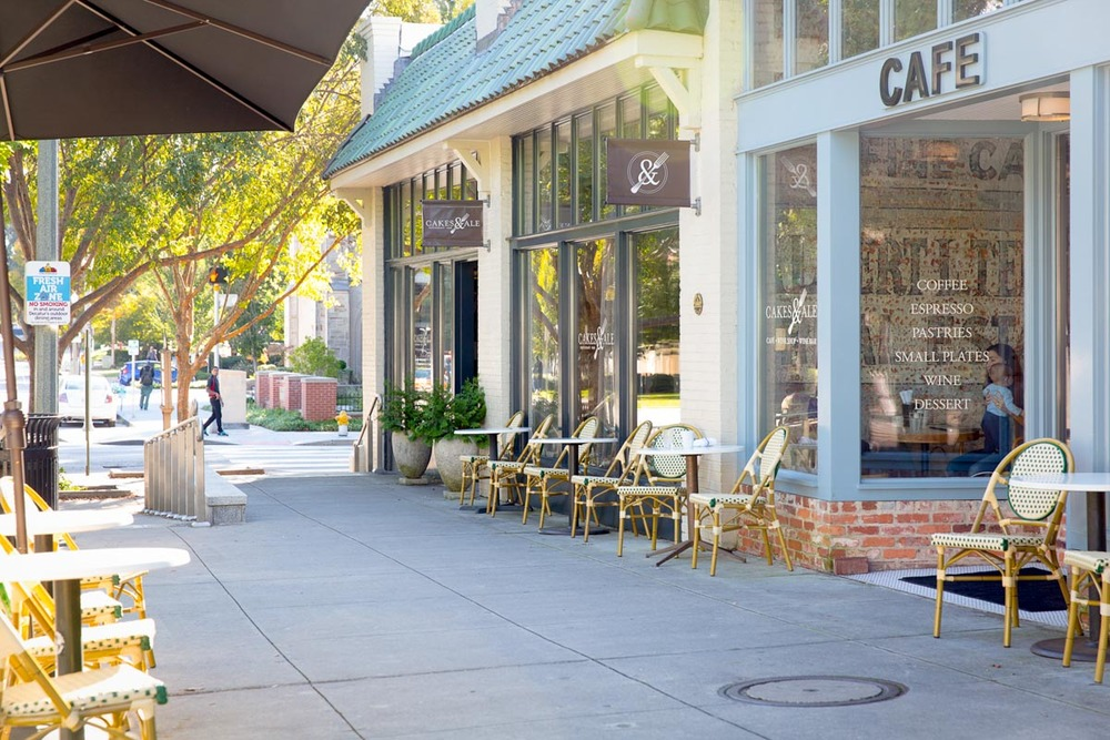 Allin's retaurant Cakes & Ale in Decatur | Photograph courtesy of Cakes & Ale