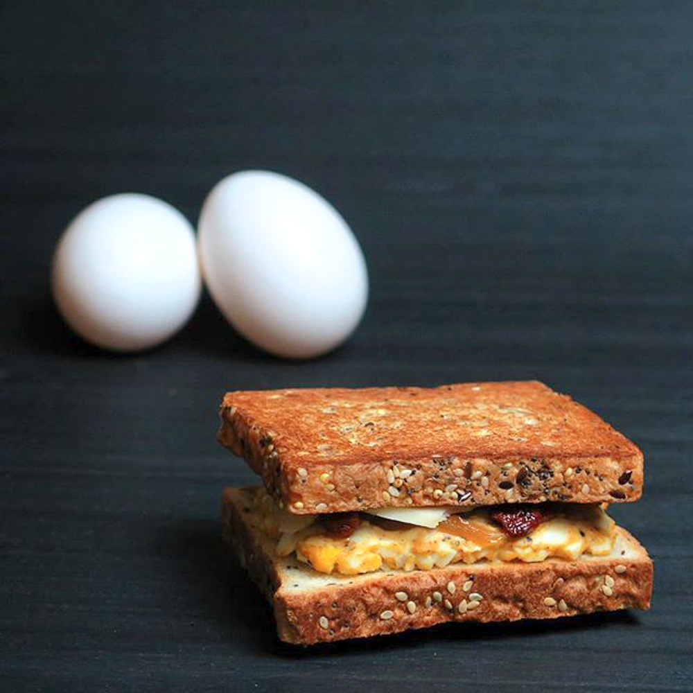 Le Egg Sandwich | Photograph courtesy of Madame Monsieur