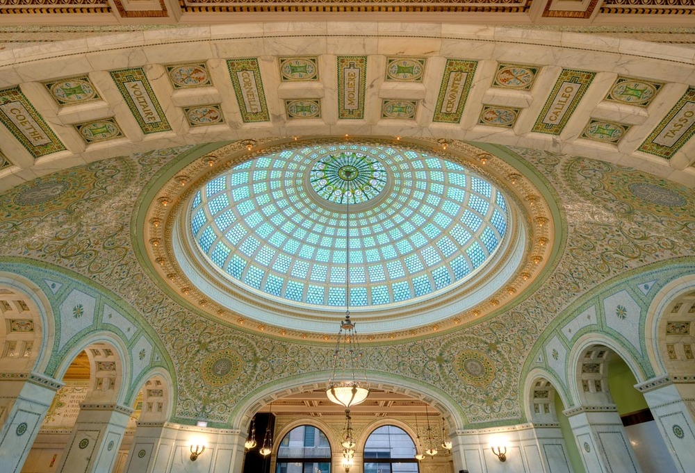 Chicago Cultural Center Dome | Photo Credit: City of Chicago