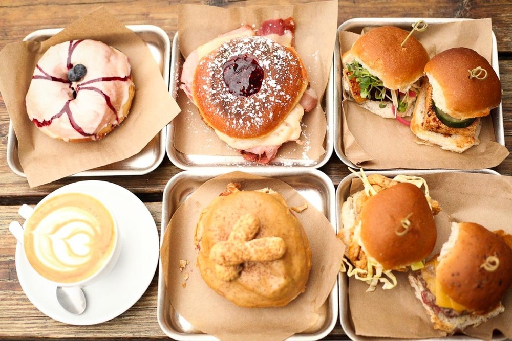 Photograph Courtesy of District. Donuts. Sliders. Brew.