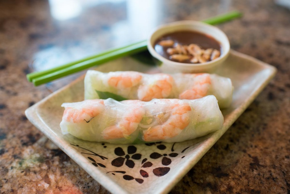 Summer Rolls at Anh Hong | Photo Credit: Find. Eat. Drink.
