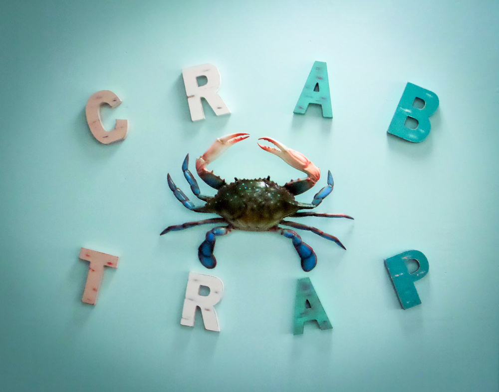 Photographs courtesy of The Crab Trap