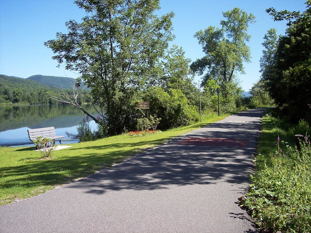 Ashuwillticook Rail Trail | Photo Credit: Massachusetts Travel & Tourism
