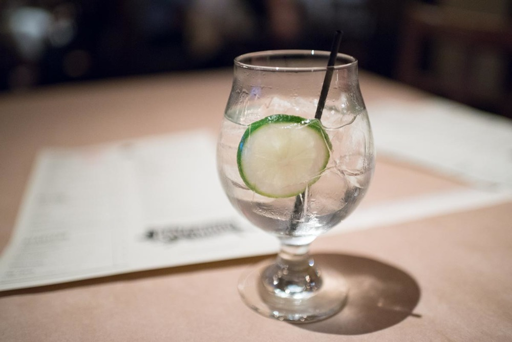 Gin & Tonic at The Ravenous Pig | Photo Credit: Find. Eat. Drink.