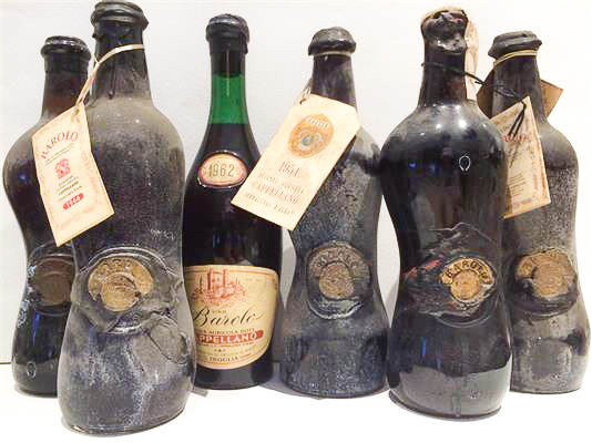 Old Cappellano Barolos | Photograph courtesy of Chambers Street Wines