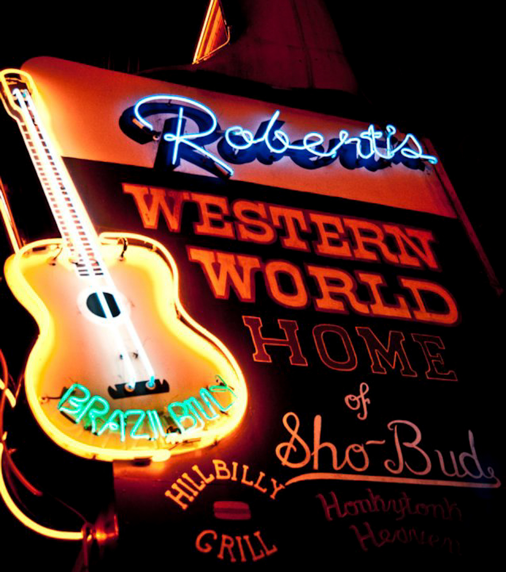 Photograph courtesy of Robert's Western World