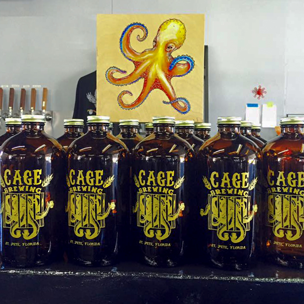 Photograph courtesy of Cage Brewing