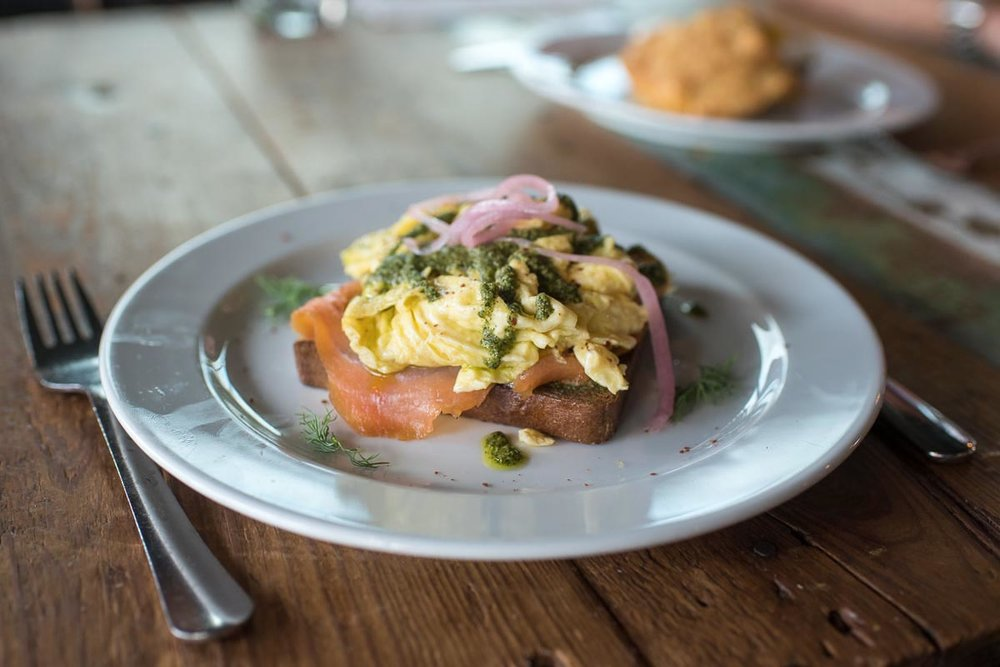 Dill Scramble at Blacksmith | Photo Credit: ©Find. Eat. Drink.
