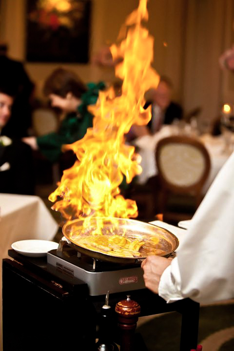 Bananas Foster | Photograph courtesy of Brennan's