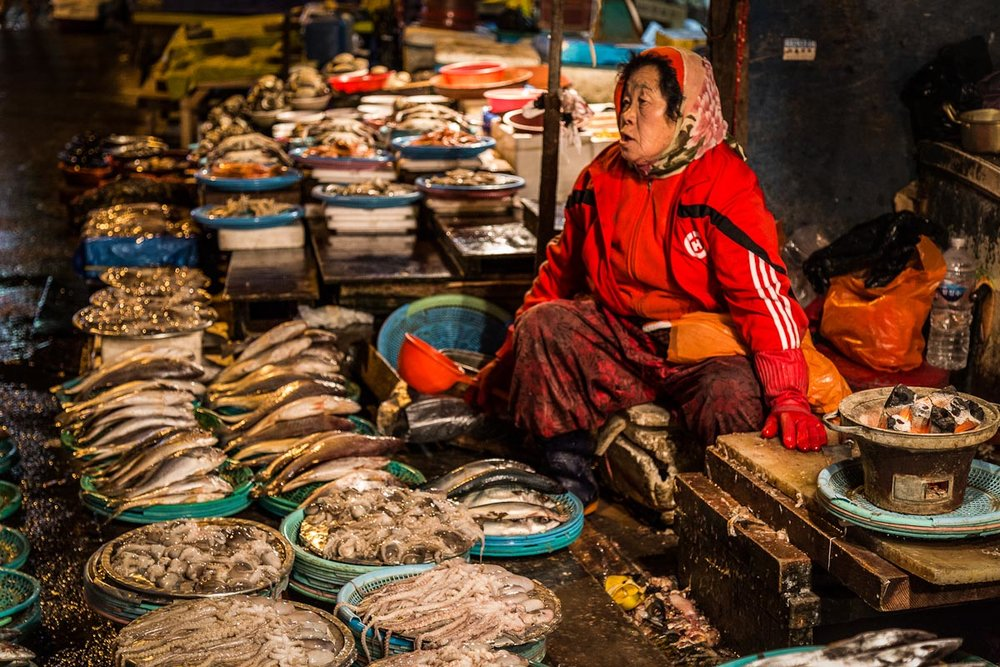 Jagalchi Fish Market | Photo Credit: Ryan Bodenstein [flickr]