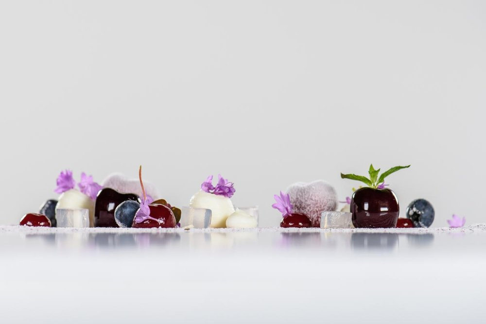Desserts by Jonathan Fisher | Photograph courtesy of The Umstead Hotel & Spa