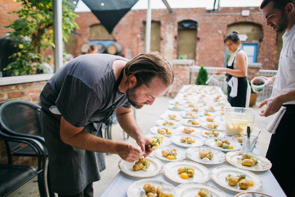 Chef Erik Niel