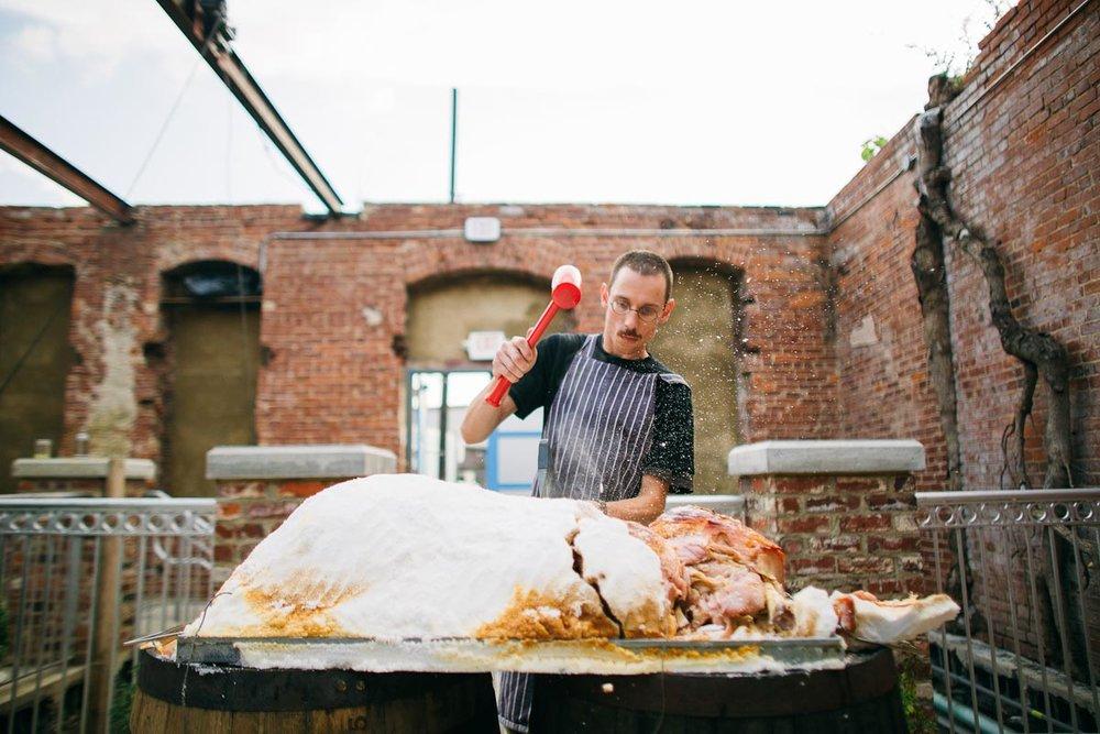 Salt-Roasted Ham