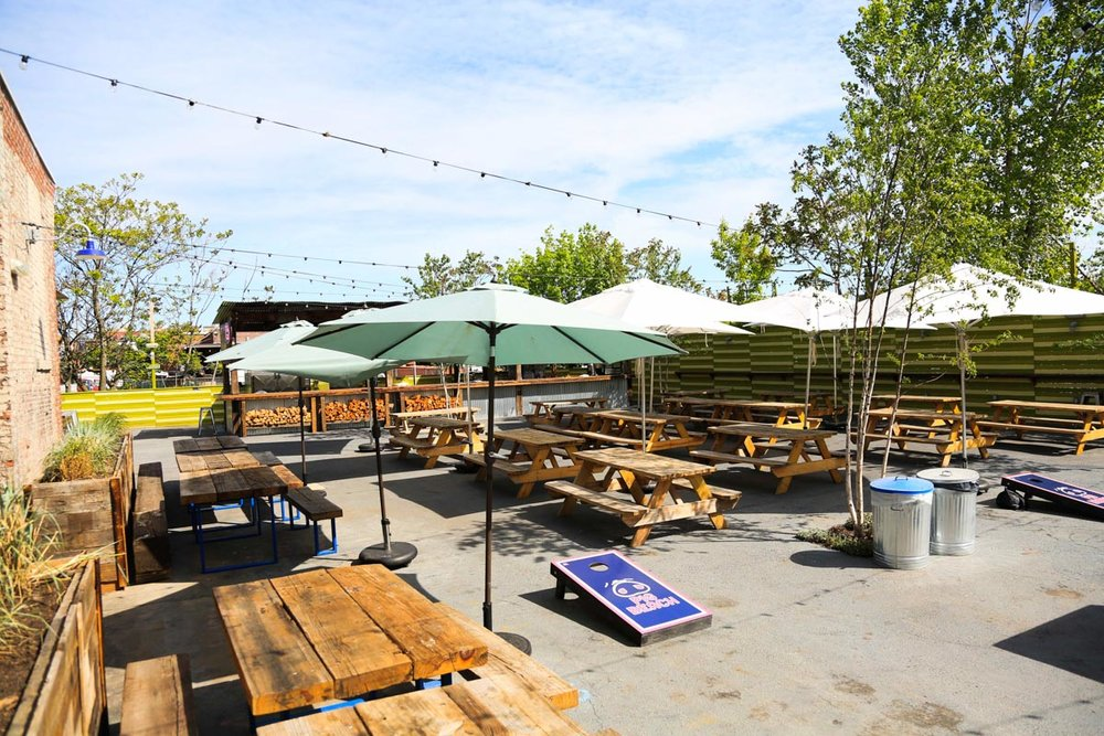 BBQ Beer Garden| Photograph courtesy of Pig Beach