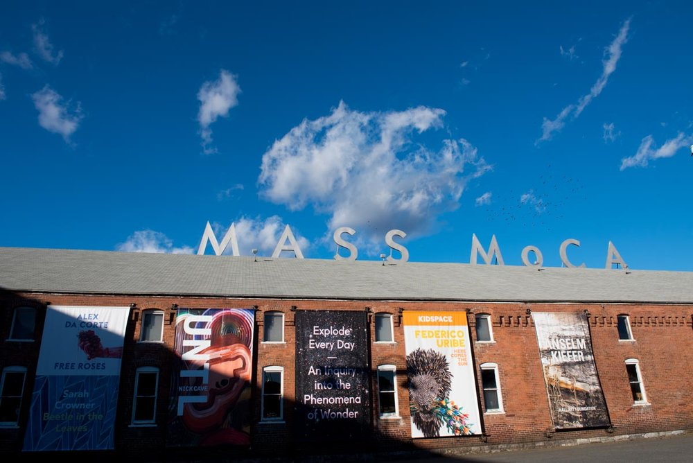 Mass MoCA campus in North Adams | Photo Credit: ©Find. Eat. Drink.